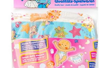Heless 375Heless Diaper for Small Doll (3-Piece)