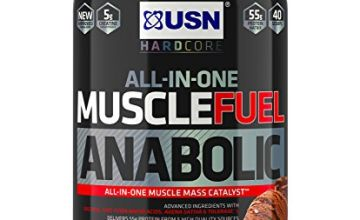 Save on USN Muscle Fuel Anabolic All In One Muscle Builder Protein Shake Chocolate 2 kg and more