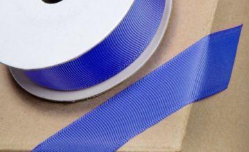 Club Green GROSGRAIN RIBBON ROYAL BLUE 25mmX10MT, Fabric, 12.1 x 12.1 x 3.08 cm