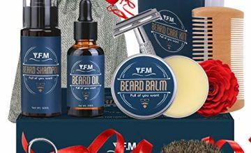 Beard Grooming Kit Y.F.M. Beard Care Kit 8 in 1 Moustache Ca