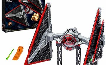 LEGO 75272 Star Wars Sith TIE Fighter Building Set, The Rise of Skywalker Movie Series
