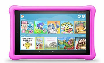 Save £65 on Fire HD 10 Kids Edition - Pink Case (Previous Generation - 7th)