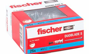 fischer 545676 DUOBLADE Cavity Fixing, Grey/Red/Metal