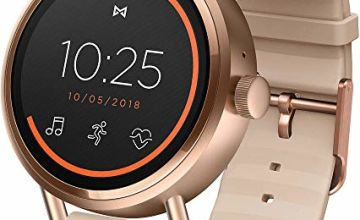 Save on Misfit Womens Smartwatch with Silicone Strap MIS7104 and more