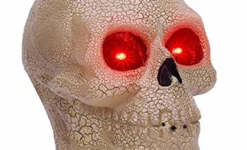 OUSFOT Halloween Decorations Skeleton Prop Motion Sound Acti