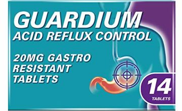 Save on GUARDIUM Tablets Heartburn and Acid Reflux Control by Gaviscon, Pack of 14 and more