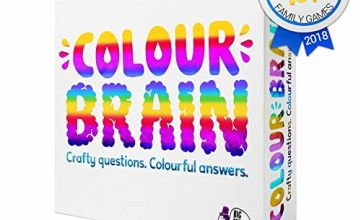 Colourbrain: The Ultimate Family Board Game for Kids and Adults