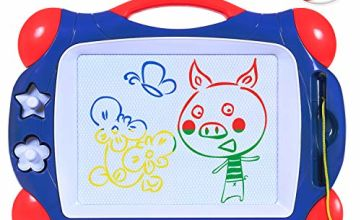 SGILE Magnetic Drawing Board,Large Water Doodle Magic Drawing Mat