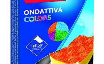 Vileda Colors ondattiva MILLEUSI 3+ 1, Sponge, Multicoloured, 13x 22x 2.6cm, 4Units