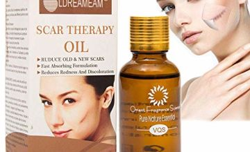 Scar Repair Oil,Scar Essence,Scar Healing Oil,Scar Treatment,Treatment for FaceBody Scar,Scar Removal,Acne Spots,Stretch Marks,Repairs Damaged Skin,Old and New Scars and Surgical Scars