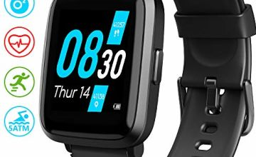 UMIDIGI UFit Smart Watch, Fitness Tracker with Blood Oxygen Monitor (SpO2) Heart Rate Monitor Pulse Oximeter Smartwatch Fitness Watch Smart Watch for Men Women Android iOS