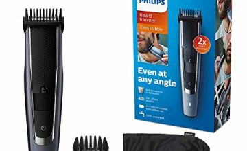 Philips Series 5000 Beard and Stubble Trimmer with Full Metal Blades