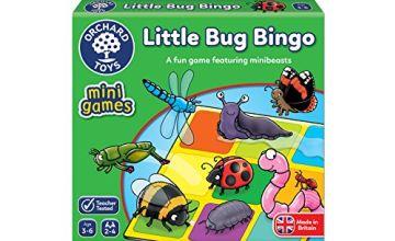 Orchard Toys Little Bug Bingo Mini Game