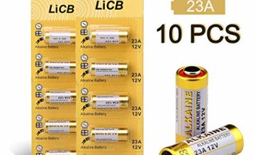 LiCB 23A A23 12V Alkaline Battery (10PCS)