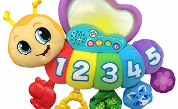 LeapFrog Butterfly Counting Friend Baby Toy, Baby Musical Toy with Sounds, Letters & Numbers, Interactive Educational Toy for Babies 1, 2, 3+ Year Olds Boys & Girls