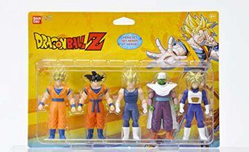 Bandai Dragon Ball Z 34501–Pack of 5figurines set heroes
