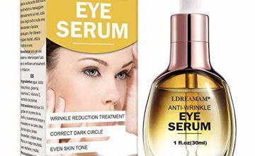Anti Ageing Eye Serum for Dark Circles,Anti Wrinkle Eye Serum,Hydrating Eye Serum,Reduces Wrinkles,Bags and Saggy Skin,Eye Treatment Gel