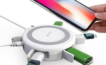 Nillkin Wireless Charger with USB Hub Multi-Port Charge Exte