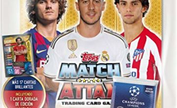 Topps- Match Attax - Starter Pack, 19/20