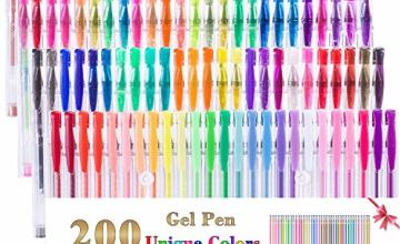 Gel Pens with refills for Adult Coloring Book