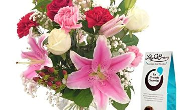 Save on Oriental Charm Bouquet & FREE Chocolates and FREE NEXT DAY UK Delivery - Beautiful Fresh Flowers for Birthdays, Anniversaries and Special Occasions and more