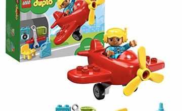 LEGO 10908 DUPLO Town Plane with Propeller Aeoroplane and Workshop Set