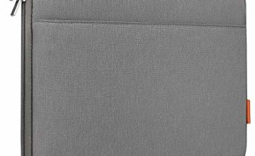 Inateck Laptop Sleeve Case Bag Briefcase Compatible 16 Inch MacBook Pro 2019/15.4'' MacBook Pro 2013-2015/15'' MacBook Pro 2016 2017 2018 2019/15 Inch Surface Book 2 - Dark Grey