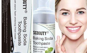 Soda Toothpaste,Foam Toothpaste,Teeth Whitening Toothpaste,Whitening Toothpaste,Intensive Stain Removal Whitening Toothpaste Bleeding Gums Toothpaste Repair Toothpaste
