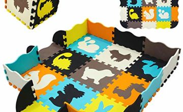 qqpp Mat,Soft EVA Foam Baby Play Mats For Floor, Jigsaws Puzzle Board Portable Foldable. Baby Puzzle Play Mat For Baby.