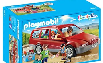 Playmobil Family Fun 9421 Family Car, for Children Ages 4+