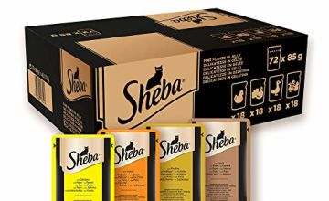 10% off Sheba Wet Cat Food