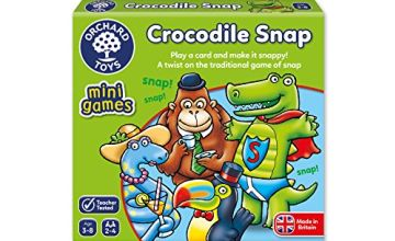 Orchard Toys Crocodile Snap Mini Game
