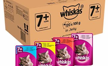 Up to 30% off Whiskas wet cat food pouches