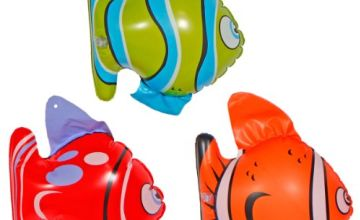 Creative 20572 Inflatable Tropical Fish 3 Pieces Multi Colors