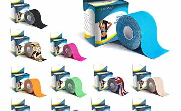 KG Physio Kinesiology Tape - Muscle Sports Tape - 5cm x 5m Roll