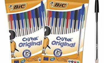 Bic 962704Original Crystal Ball Pens (Pack of 20