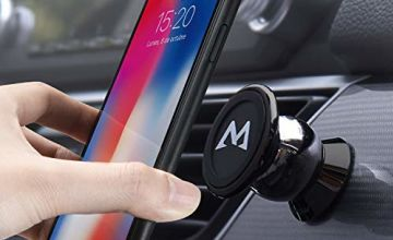 Phone Holder,Mpow Magnetic Car Phone Holder,Universal Car Phone Holder,Magnetic Dashboard Car Phone Mount,Mobile Phone Car Cradles for All Vehicles&Phones,for  iPhoneXS/XR/X/8/7/6,Galaxy9/8/7/6,LG,etc