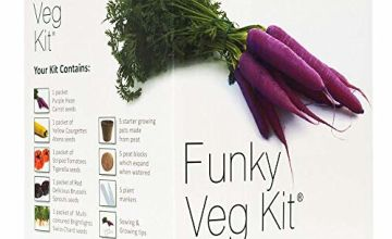 Funky Veg Kit by Plant Theatre – 5 Extraordinary Vegetables to Grow