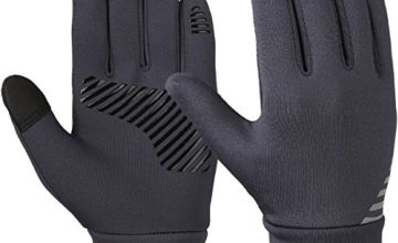 Vbiger Kids Cycling Gloves Touch Screen Anti-slip Gloves,Aged 6-8