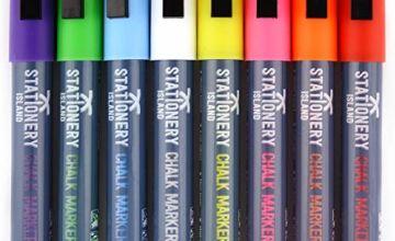 Stationery Island Chalk Pens W60 6mm Chisel Nib