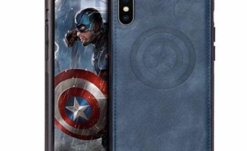 DIEYING Marvel Avengers iPhone Xs/X Case, Protective Phone C