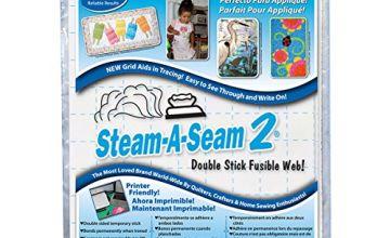 Warm Company Steam-A-Seam 2 Double Stick Fusible Web, Multi-Colour, 36.83 x 24.79 x 0.12 cm