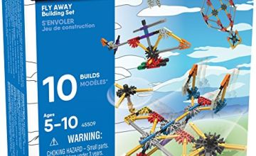 K'NEX Imagine - Beginner Fun Fly Away Building Set - 113 pieces - Ages 5+