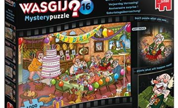 Jumbo 19165 Wasgij Mystery 16-Birthday Surprise 1000 Piece Jigsaw Puzzle