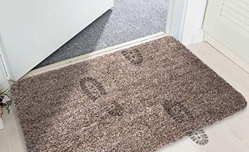 mayshine Non-slip Doormat Cotton Door Mat Mud Dirt Trapper Mats Entrance Rug Shoes Scraper Floor Indoor