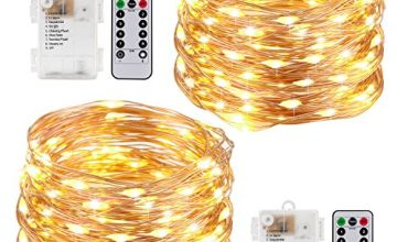 String Lights LED USB Decorative Rope Lights, Remote Copper Wire for Bedroom Patio Garden Party Wedding Commercial Lighting