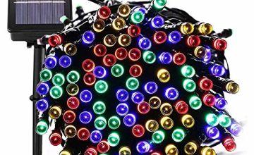 Moppson 40LED Solar String Lights