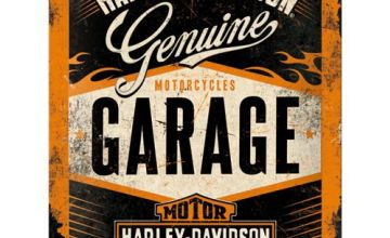 Harley Davidson Garage metal sign (na 2015)