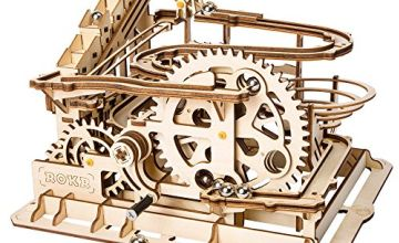 ROKR Wooden Mechanical 3d Puzzle Mechanical Model With Balls Brainteaser for Kids, Teens and Adults
