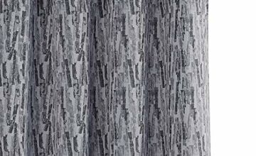 Deconovo Full Blackout Super Soft Thermal Insulated Doodle Pattern Blackout Curtains with Coating Back Layer